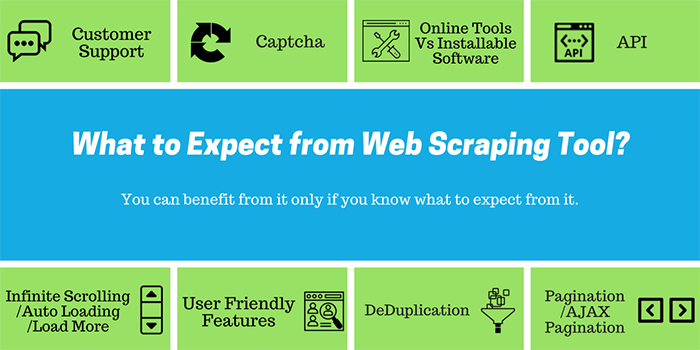 What to Expect from Web Scraping Tool?