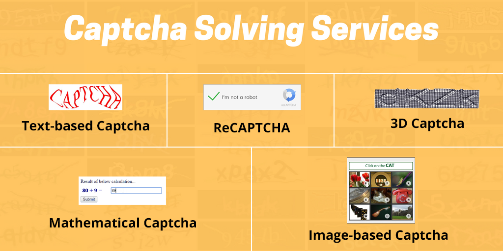 Captcha Solving Services