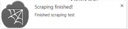Finished Notification