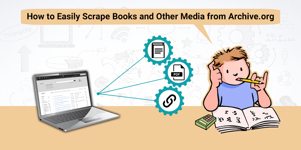 Easily scrape books and other media