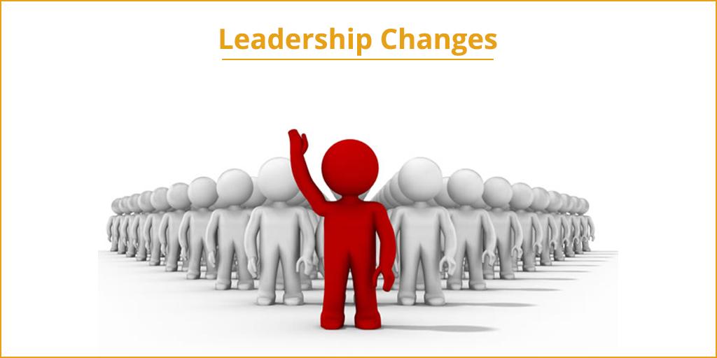 Leadership Changes