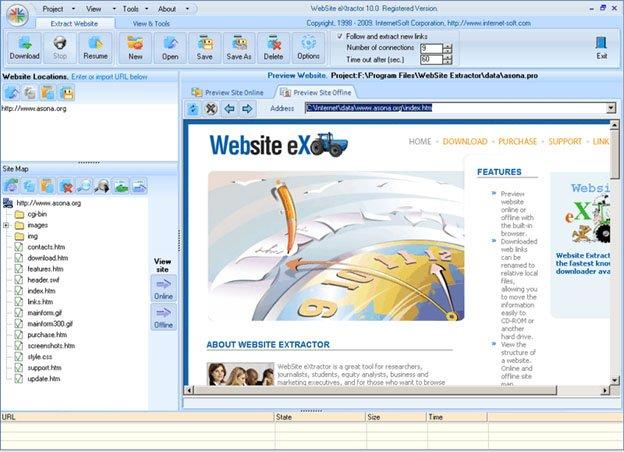 Website-eXtractor